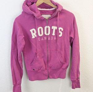 Roots zipup hoodie